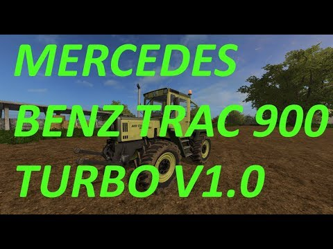 Mercedes Benz Trac 900 Turbo v1.0