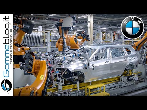 BMW Car Factory ROBOTS - Fast Manufacturing