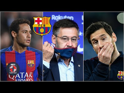 BARCELONA Las polémicas de Josep Bartomeu: Neymar, fichajes costosos y Lionel Messi | Fuera de Juego