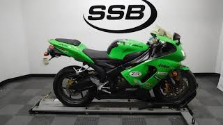 10. 2005 Kawasaki Ninja ZX-6R– used motorcycles  for sale– Eden Prairie, MN