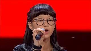 Kim - Gajah (Tulus Cover) The Voice Kids Indonesia Season 2 GTV 2017