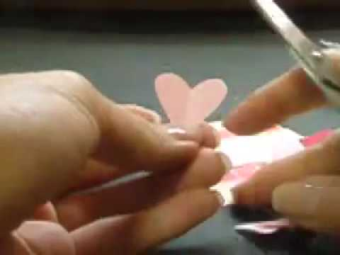 LOVE Tutorial - 038 -- 3 Hearts Card