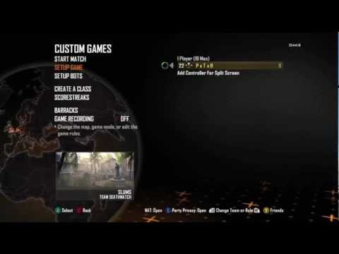 BLACK OPS 2 INSTANT LEVEL 55 GLITCH