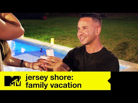 Mike & The Jersey Shore Family Plan An Engagement | Jersey Shore Family Vacation Season 1