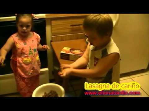 Watch videoSíndrome de Down: Lasaña de cariño