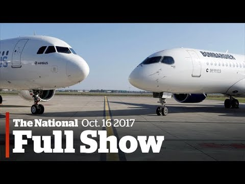 The National for Monday, October 16th: Bombardier deal, stars collide, right whales (видео)