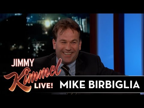 Mike Birbiglia Reveals That He Spilled Food at Jimmy Kimmel's House