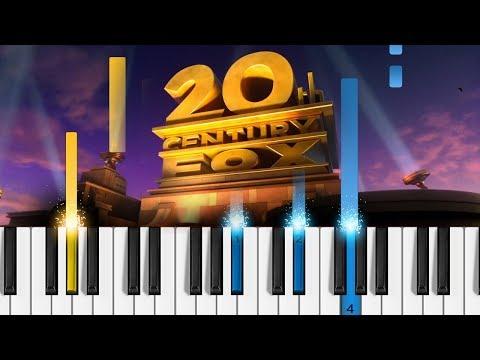 20th Century Fox Fanfare - Piano Tutorial / Piano Cover