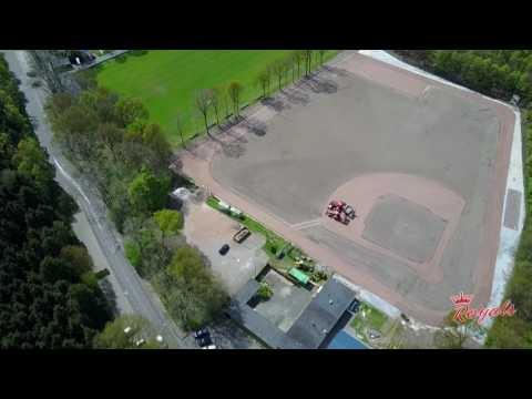 Honkbalvereniging Royals renovatie veld