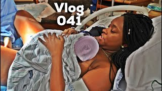 BIRTH OF BABY ROYCE   LABOR AND DELIVERY VLOG / STORY   EMOTIONAL !!