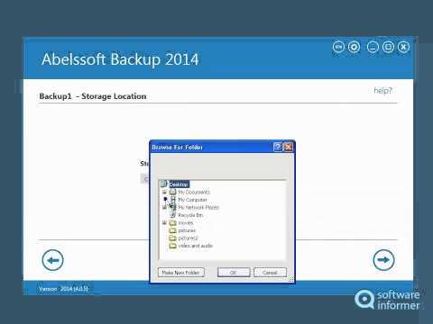 Abelssoft Backup video tutorial