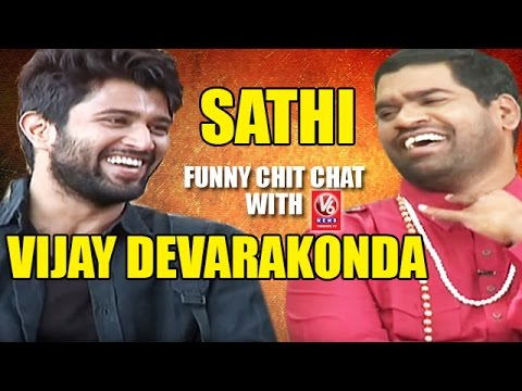 Bithiri Sathi Funny Chit Chat With Actor Vijay Devarakonda