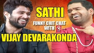 Video Bithiri Sathi Chit Chat With Actor Vijay Devarakonda | Teenmaar News | V6 News MP3, 3GP, MP4, WEBM, AVI, FLV Oktober 2018