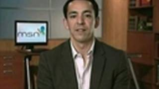 Nov. 4 (Bloomberg) -- Yusuf Mehdi, senior vice president of Microsoft Corp.'s online audience business, talks with Bloomberg's...