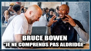A l'occasion du tournoi NBA de la Hoops Factory, First Team a pu s'entretenir avec Bruce Bowen, 3 fois champion avec les Spurs.