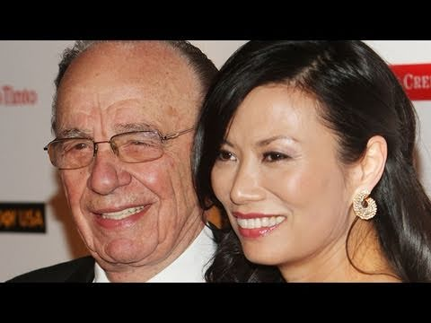 Wendi Deng Murdoch Smacks Pie-Throwing Protester Who Targeted Rupert Murdoch at Phone-Hacking Hearin