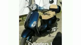1. 2006 Vespa LX 150 -  Engine Info - Motorcycle Specs