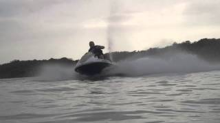 6. Testing a Yamaha Waverunner VX Cruiser full throttle