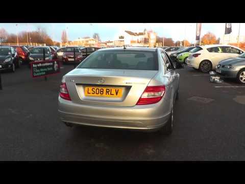 Mercedes-Benz C CLASS C180K SE 4dr U206182