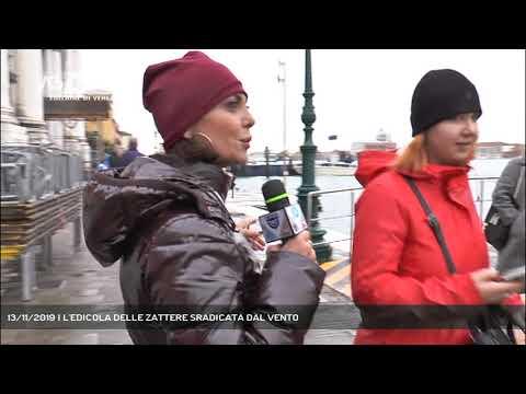 13/11/2019 | L'EDICOLA DELLE ZATTERE SRADICATA DAL VENTO