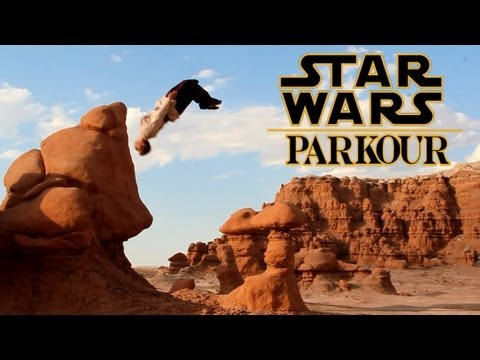Star Wars Parkour Jedi Free Running