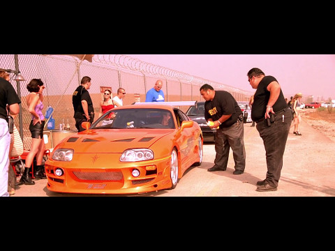 FAST And FURIOUS - Race Wars Full Scene #1080HD