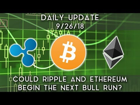 Daily Update (9/26/18) | Could Ripple and Ethereum begin the next bull market? video