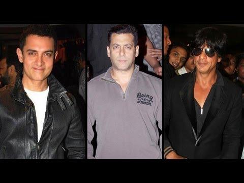 Shah Rukh, Aamir Agree But Salman Refuses 'Bombay