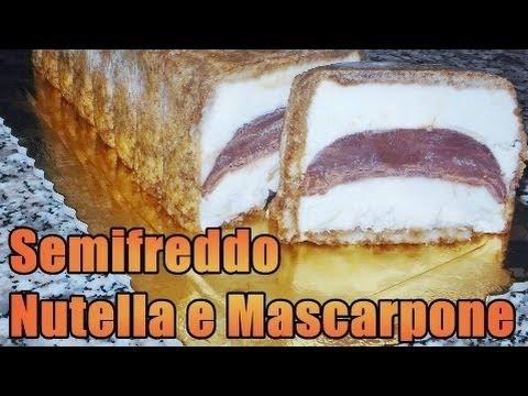 semifreddo al mascarpone e nutella - ricetta