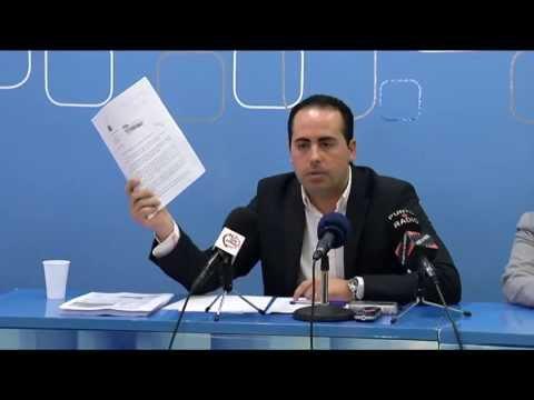 Héctor Folgado exige a Benlloch Disculpas Públicas por el daño causado a Rubert y al PP de Vila-real (17-04-13)