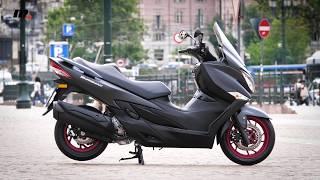 10. Suzuki Burgman 400 | Presentación / Test / Review en español | motos.net