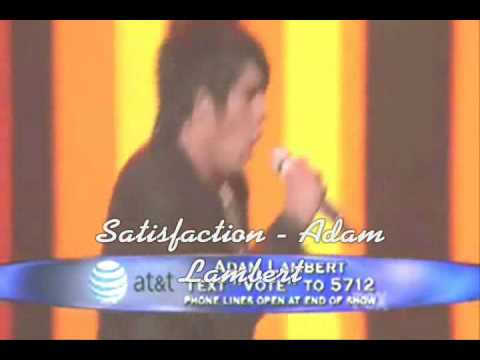 Adam Lambert - Satisfaction lyrics