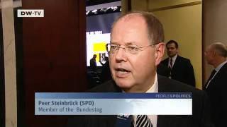The Future German Chancellor? - Peer Steinbrück | People & Politics