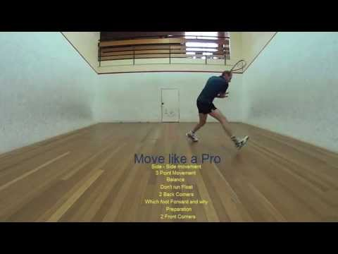 Squash Tips – Move like a Pro – 8 video series
