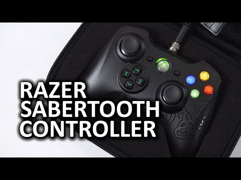 Xbox 360 - Luke took a look at the Razer Sabertooth Xbox 360 and PC wired controller. Regular Xbox 360 controllers are a mainstay in a lot of PC gamers' arsenals, and are much more affordable than the...