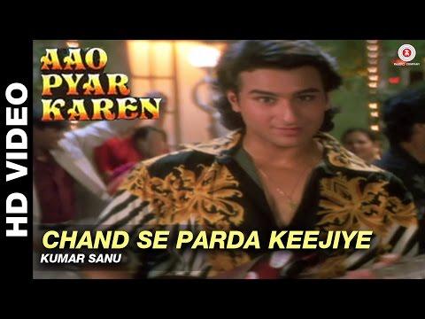 Chand se parda keejiye - Aao Pyaar Karen | Kumar Sanu | Saif Ali Khan & Shilpa Shetty (видео)