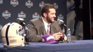 2012 NFL Draft: Matt Kalil, Vikings, OT Press Conference