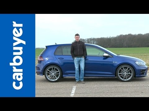R - Volkswagen Golf R 2014 review: http://bit.ly/OK7vcy Subscribe to the Carbuyer YouTube channel: http://bit.ly/17k4fct Subscribe to Auto Express: http://subscr...