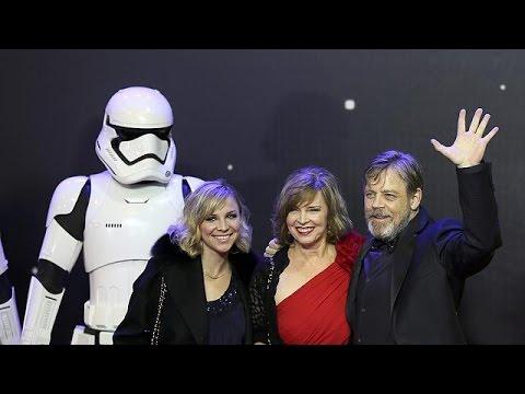 Πανδαιμόνιο στην πρεμιέρα του Star Wars στο Λονδίνο