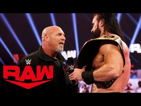 Goldberg challenges Drew McIntyre to Royal Rumble showdown: Raw, Jan. 4, 2021
