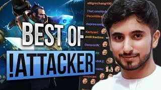 """What comes after 0? You guessed it right. It's Attacker's hero pool.Best Kunkka Plays from !Attacker's stream.Subscribe ► https://goo.gl/iZKueYPro Players Stream Best Moments and Funny Highlights ► https://goo.gl/yK4ofuDota 2 Most Epic Games and Moments ► https://goo.gl/SSyvus▬▬▬▬▬▬▬▬▬▬▬▬▬▬▬▬▬▬▬▬▬▬▬▬▬▬▬▬▬⏩Follow Attacker● Twitch: https://www.twitch.tv/attackerdota● Twitter: https://twitter.com/Attackerdota● YouTube : bit.ly/AttackerDota● Instagram: ● Facebook: ▬▬▬▬▬▬▬▬▬▬▬▬▬▬▬▬▬▬▬▬▬▬▬▬▬▬▬▬▬⏩Dota Recap Social MediaFacebook ► https://www.facebook.com/Dota2RecapTwitter ► https://twitter.com/DotaRecapWebsite ► http://dotarecap.weebly.com/If you enjoy the video, please like, share, comment and subscribe to see more best moments and funny highlights from Attacker's Twitch channel.▬▬▬▬▬▬▬▬▬▬▬▬▬▬▬▬▬▬▬▬▬▬▬▬▬▬▬▬▬Mohammed """"Attacker"""" Almheiri is a professional Dota 2 player from Dubai who is currently teamless. He is currently a streamer with Complexity Gaming.A pub star in the European region, Attacker rose to fame due to his skill with Kunkka, who he has played over 1,800 times.After briefly playing with Last Resort Dubai, he and Garter built the team Samurai Champloo in an attempt to qualify for the Shanghai Major 2016.Twitch is the world's leading social video platform and community for gamers, video game culture, and the creative arts. Each day, close to 10 million visitors gather to watch and talk about video games with more than 2 million streamers.Dota is a competitive game of action and strategy, played both professionally and casually by millions of passionate fans worldwide. Players pick from a pool of over a hundred heroes, forming two teams of five players. Radiant heroes then battle their Dire counterparts to control a gorgeous fantasy landscape, waging campaigns of cunning, stealth, and outright warfare.!Attacker KunkkaAttacker Kunkka Best Plays Compilation Dota 2https://youtu.be/P8B5m8dlmQ4"""