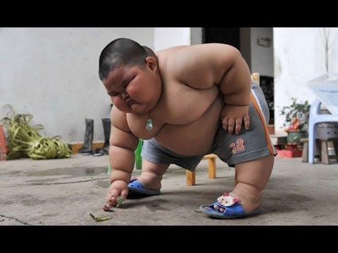 fattest kid in the world - lu hao