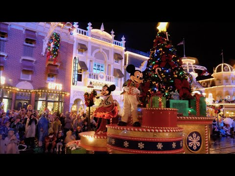 Mickey's Once Upon a Christmastime Parade 2019 4K FULL SHOW Mickey's Very Merry Christmas Party