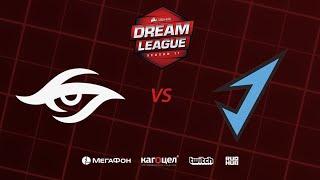 Team Secret vs J.Storm, DreamLeague Season 11 Major, bo3, game 2 [Adekvat & Smile]