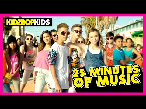 KIDZ BOP Kids - Uptown Funk, GDFR, Sugar, & other top KIDZ BOP songs [25 minutes] (видео)