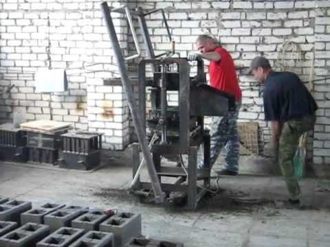 Керамзитоблоки производство своими руками