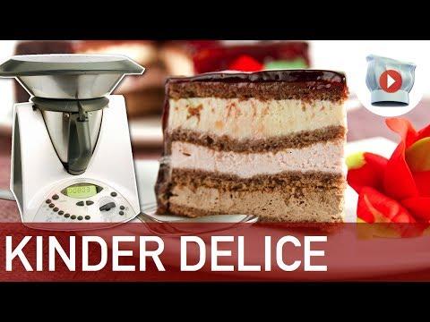 torta kinder delice - ricetta bimby
