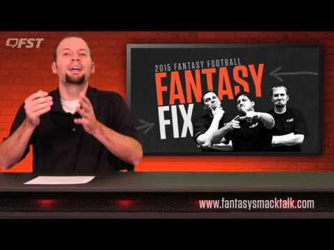 2015 Fantasy Football: Week 8 Fantasy Fix thumbnail