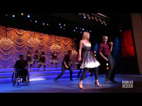 glee i've had the time of my life +valerie Full Performance