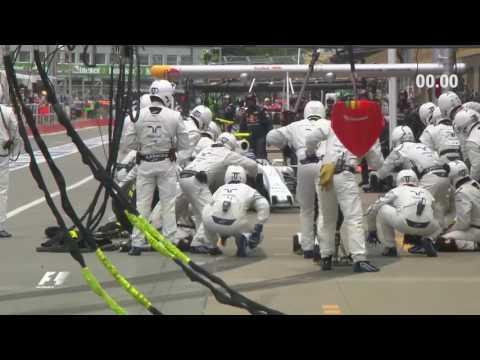 F1賽車換輪胎速度有多快?影片告訴你!